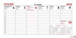 Kalendarz biurowy JOWISZ B12 BESKIDY