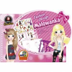 Malowanka 3221-03 szablon+naklejki MAL11 A7