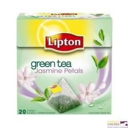 Herbata LIPTON piramidki jaśminowa 20 torebek
