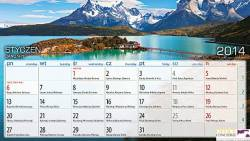 Kalendarz biurowy EXPLORER (H1) 230 x 170 mm TELEGRAPH