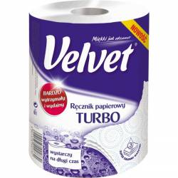 Ręcznik VELVET TURBO 3 warstwy 300 listków