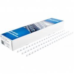 Grzbiet do bindowania DATURA 16mm (100szt) biały