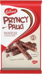 PRYNCYPAŁKI Classic wafle z kremem kakaowym w czekoladzie, dekorowane czekolada mleczną 235g