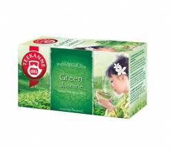 Herbata TEEKANNE GREEN TEA jaśminowa, 20 torebek, zielona