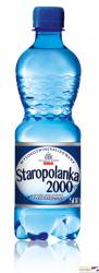 Woda Staropolanka 2000 lekko gazowana 0,5l (12 szt.)