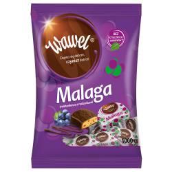 Cukierki WAWEL czekoladki Malaga 1kg