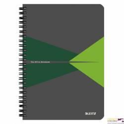 Kołonotatnik LEITZ Office A5 w linie z ok.PP zielony 44990055