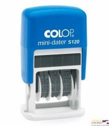 Datownik MINI S120 ISO pod.czarna COLOP