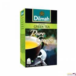 Herbata DILMAH Pure Green ekspresowa (20 saszetek) zielona