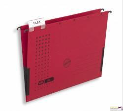Teczka zawieszana z boczkami CHIC czerwona ELBA 100552105
