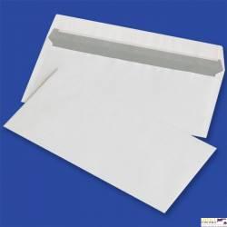Koperty DL samoklejące z paskiem HK, białe 80g (op. 1000 szt.) NC 11232010