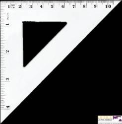 Ekierka równoramienna 10,5mm BL003-B