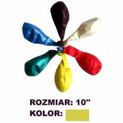 Balony 10 METALIK złote(100) KW TRADE 170-1568