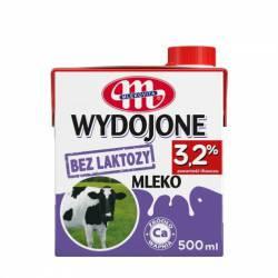 Mleko bez laktozy Mlekovita WYPASIONE 3,2% 500ml