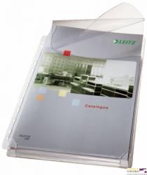Koszulki na katalogi A4 LEITZ z klapką (5szt.) 170 mic. 47573003