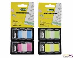 Zakładki 43*25 neon.ziel/żółte 960124