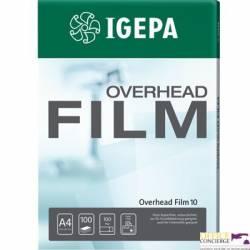 Folia A4(100)OVERHEAD FILM 10 88116A _  przez.niepow.do laser.