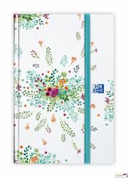 Kalendarz EOY 2020 OXFORD Flowers 10x15 tydzień na rozkładówce, oprawa brulionowa mix 400124402