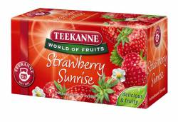 Herbata owocowa Teekanne Strawberry Sunrise, truskawkowa, op. 20 torebek