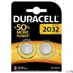 Bateria litowa DL 2032 (2)  DURACELL 4560106
