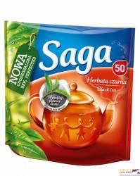 Herbata SAGA ekspresowa 50 torebek 70g