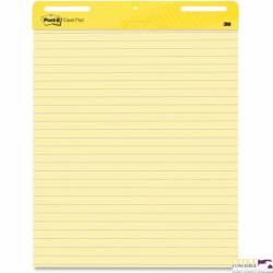 Blok flipchart samoprzylepny żółty w linię 30k 3M-21200694851 POST-IT