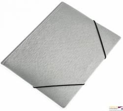 Teczka z gumką A4 SIMPLE FOCUS srebrny 0410-0057-12       PANTA PLAST
