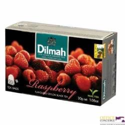 Herbata DILMAH malinowa  (20 saszetek)