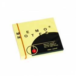 Notes MEMO 75*75 żółty  DALPO