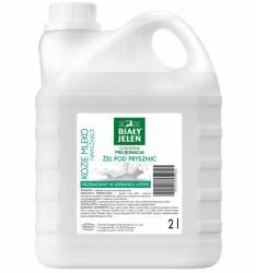 Mydło w płynie Biały Jeleń nawilżające KOZIE MLEKO 2 litry