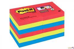 Bloczki 3M POST-IT 51x51mm BORA BORA 12x90k Super Sticky 70005253557