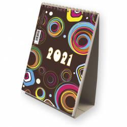 Kalendarz ze spiralką - pionowy 2021 T-101-3-09 Michalczyk i Prokop