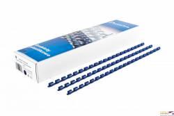 Grzbiet do bindowania DATURA 19mm (100szt) niebieski
