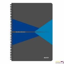 Kołonotatnik LEITZ Office A4 w linie z ok.PP niebieski 44960035