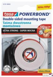 Taśma montażowa dwustronna 55791-00003-01 Powerband 1.5mx19mm Super mocna