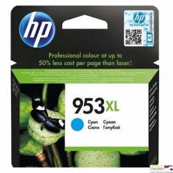 Tusz HP 953XL (F6U16AE) niebieski 1600str 8210/8710/8715/8720