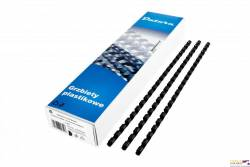 Grzbiet do bindowania DATURA 5mm (100szt) czarny