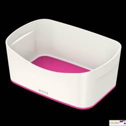 Pojemnik MyBOX bez pokrywki biało-różowy LEITZ 52571023
