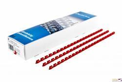 Grzbiet do bindowania DATURA 16mm (100szt) czerwony