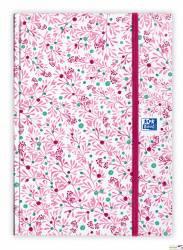 Kalendarz EOY 2020 OXFORD Flowers 15x21 dzień na stronie, oprawa brulionowa mix 400124413