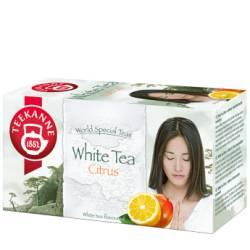 Herbata TEEKANNE WHITE TEA CITRUS 20 torebek, biała