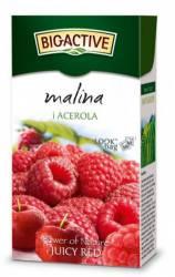 Herbata Big-Active Herbata czarna - malina i acerola, 20 torebek z zawieszką