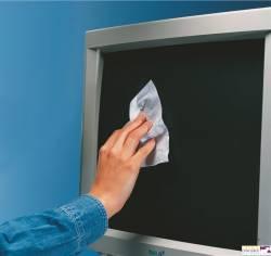 Chusteczki wilgotne i suche do ekranów ESSELTE DATALINE (po 50) 67119