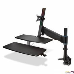 Stanowisko KENSINGTON SmartFit K55792WW do pracy na siedząco lub stojąco