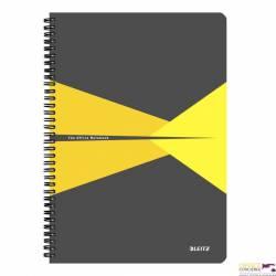 Kołonotatnik OFFICE A4 kratka żółty 46470015 LEITZ