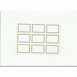 Naklejki na zeszyt małe(20ark) Wzór I ART-DRUK
