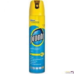 Spray przeciw kurzowi PRONTO cytrynowy 300ml połysk 22639