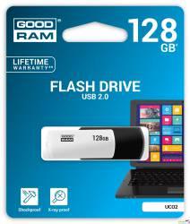 Pamięć USB GOODRAM 128GB UCO2 czarno-biały USB 2.0 UCO2-1280KWR11