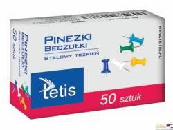 Pinezki beczułki kolor (50szt) GP100-AB MICHALCZYK I PROKOP