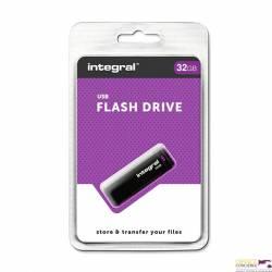 Pamięć USB INTEGRAL 32GB 2.0  BLACK INFD32GBBLK